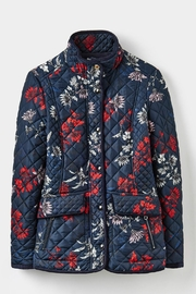 Joules Floral Quilted Jacket - Product Mini Image