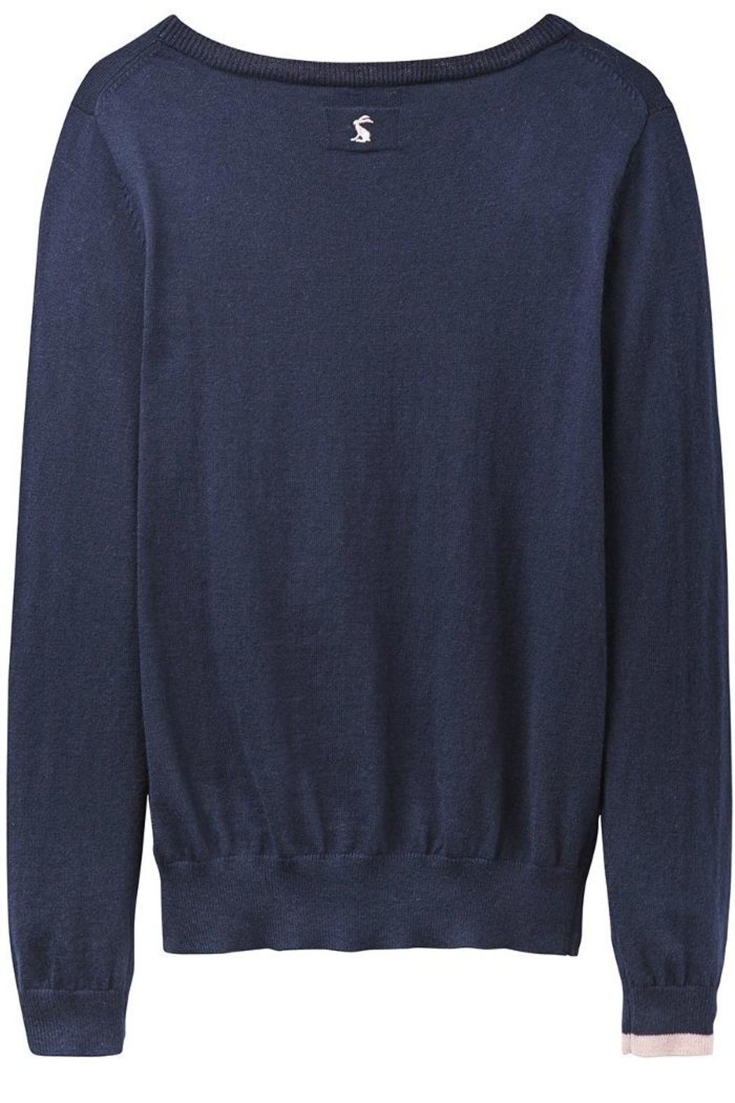 Joules Fox Intarsia Sweater - Side Cropped Image