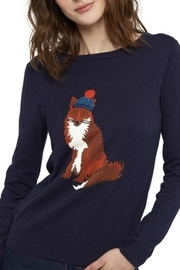 Joules Fox Intarsia Sweater - Product Mini Image