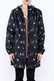 Shoptiques Product: Navy Rain Jacket