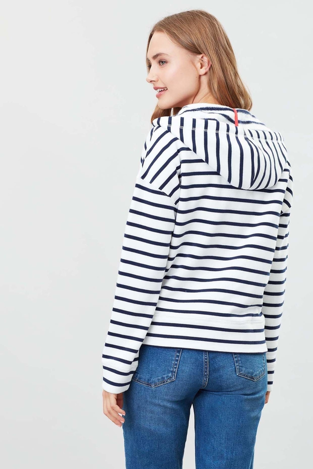 Joules Hello Hooded Sweatshirt - Side Cropped Image