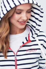 Joules Hello Hooded Sweatshirt - Product Mini Image