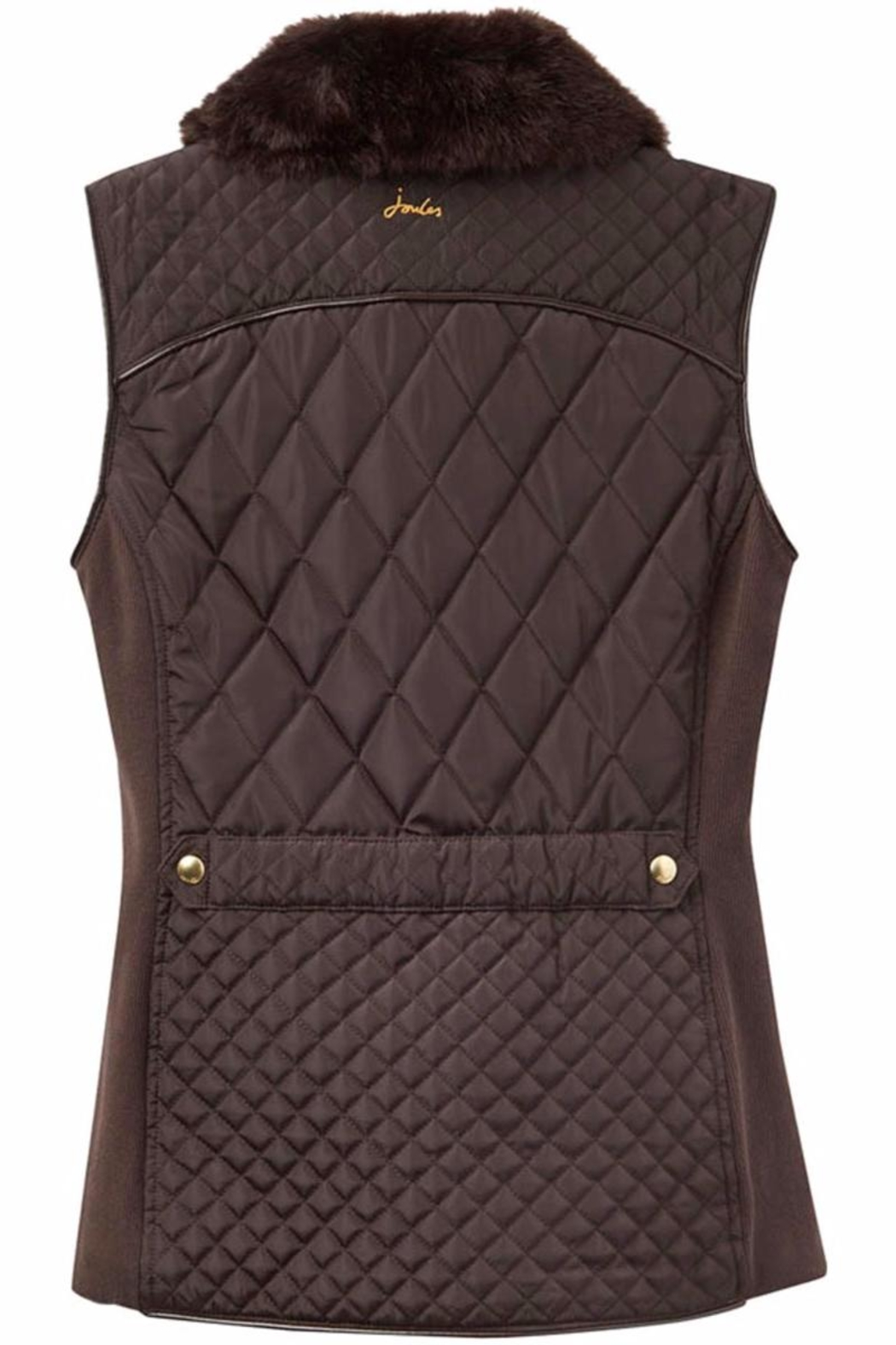 Joules Inverness Quilted Vest - Front Full Image