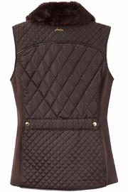 Joules Inverness Quilted Vest - Front full body