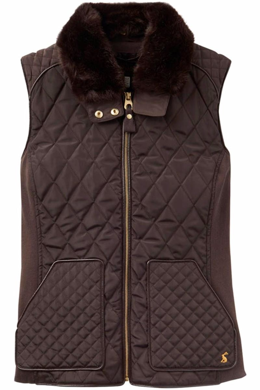 Joules Inverness Quilted Vest - Main Image