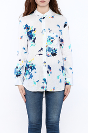 Shoptiques Product: Long Sleeve Button-Down Shirt - Side cropped