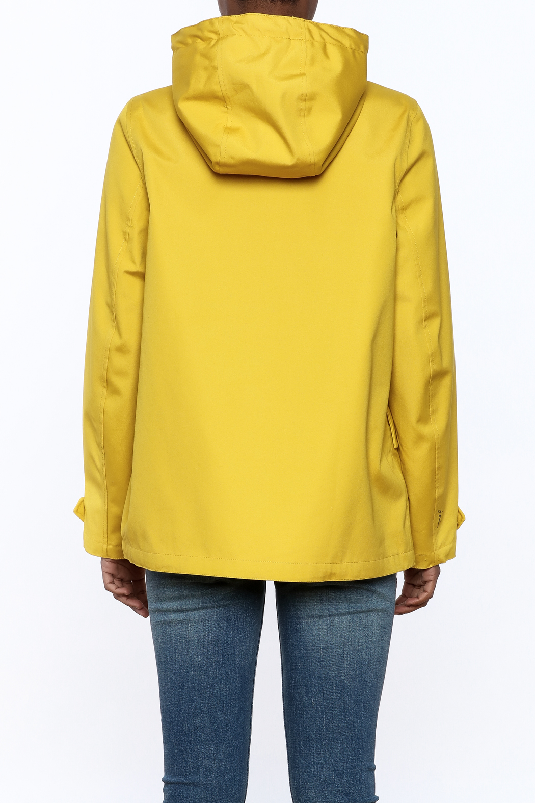 Joules Rain Coat - Back Cropped Image