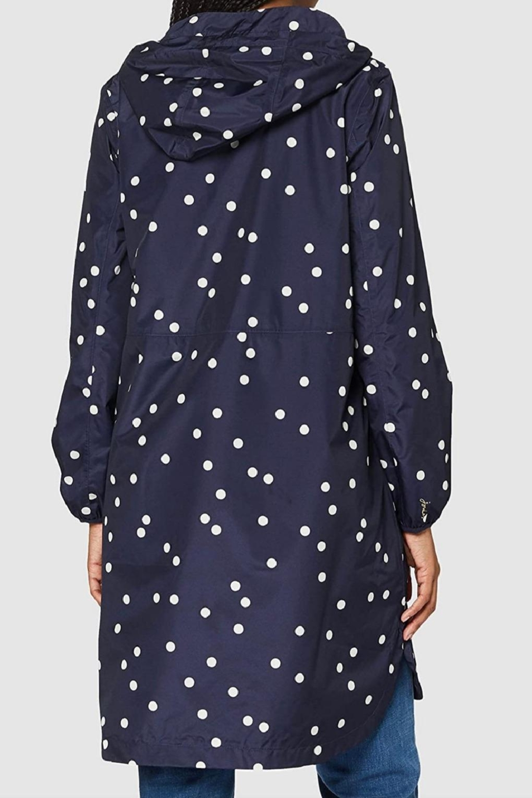 Joules Packable Rain Coat - Front Full Image