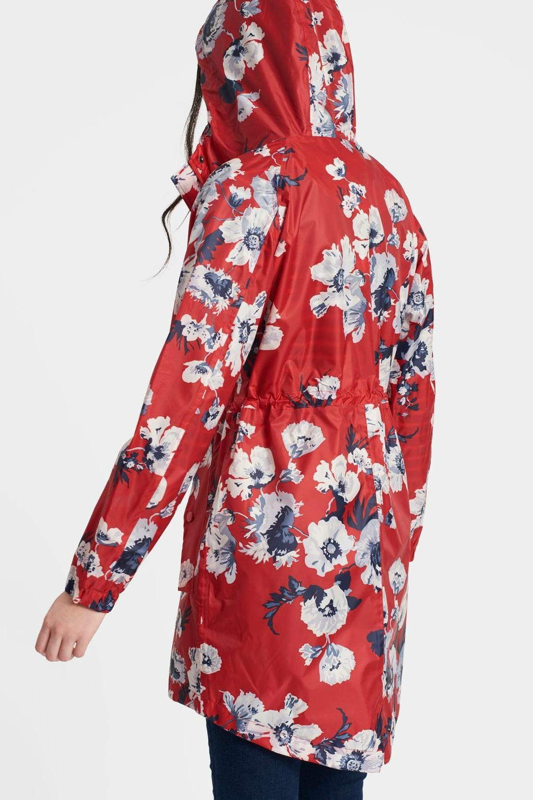 Joules Packaway Waterproof Jacket - Front Full Image