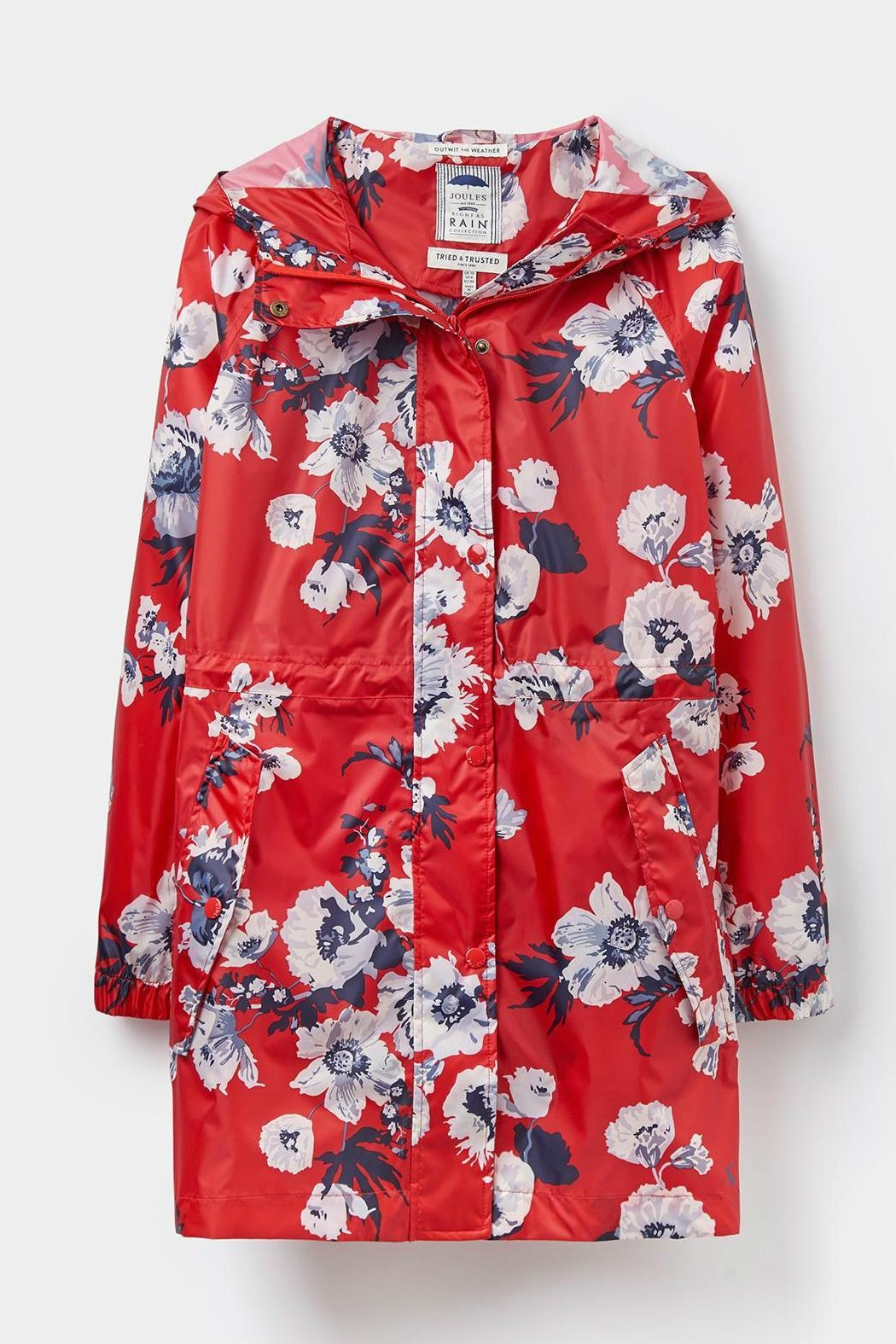 Joules Packaway Waterproof Jacket - Side Cropped Image