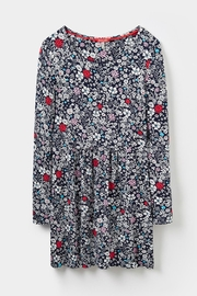 Joules Printed Jersey Tunic Top - Side cropped