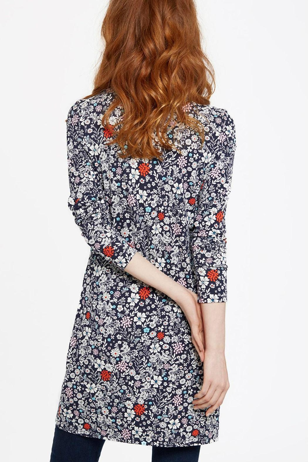 Joules Printed Jersey Tunic Top - Front Full Image