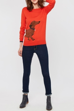 Shoptiques Product: Red Dauchund Sweater