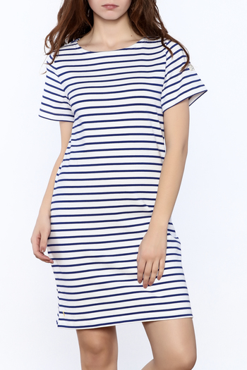 Shoptiques Product: Riviera Striped Dress - main