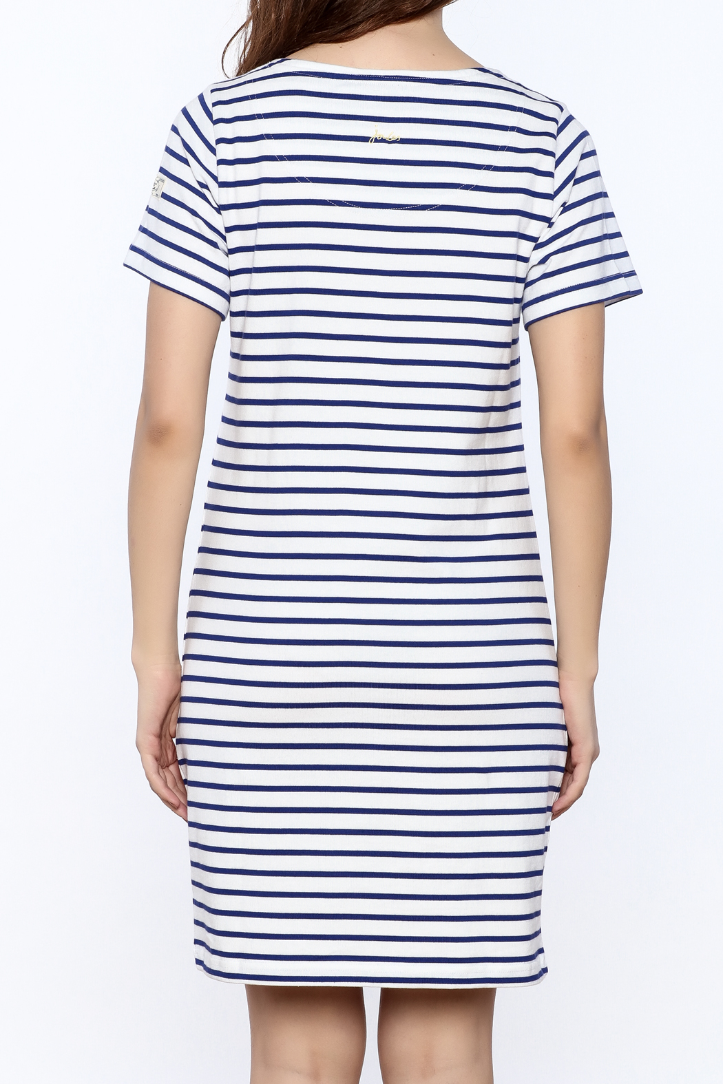 Joules Riviera Striped Dress - Back Cropped Image