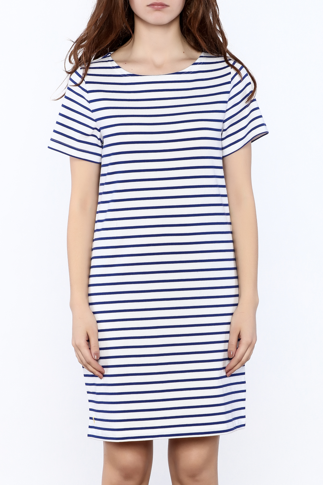 Joules Riviera Striped Dress - Side Cropped Image
