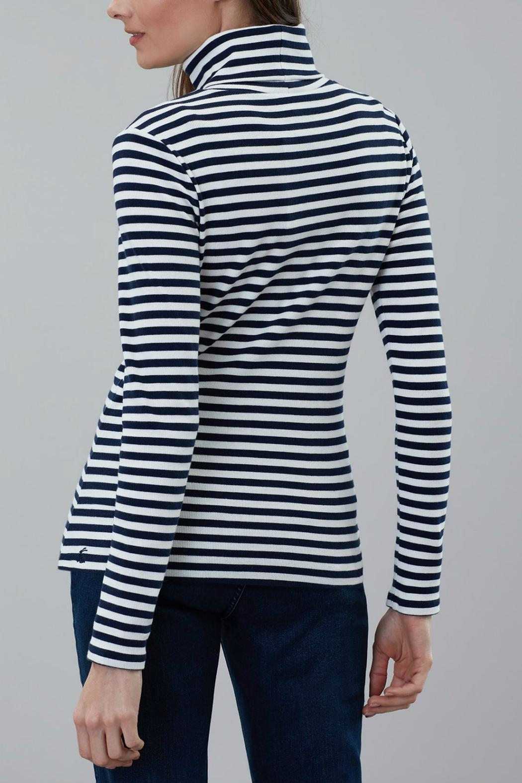 Joules Roll Neck Top - Back Cropped Image