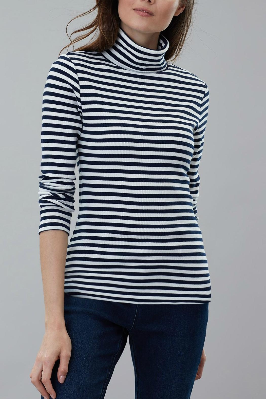 Joules Roll Neck Top - Front Full Image