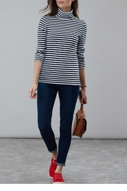 Joules Roll Neck Top - Front cropped