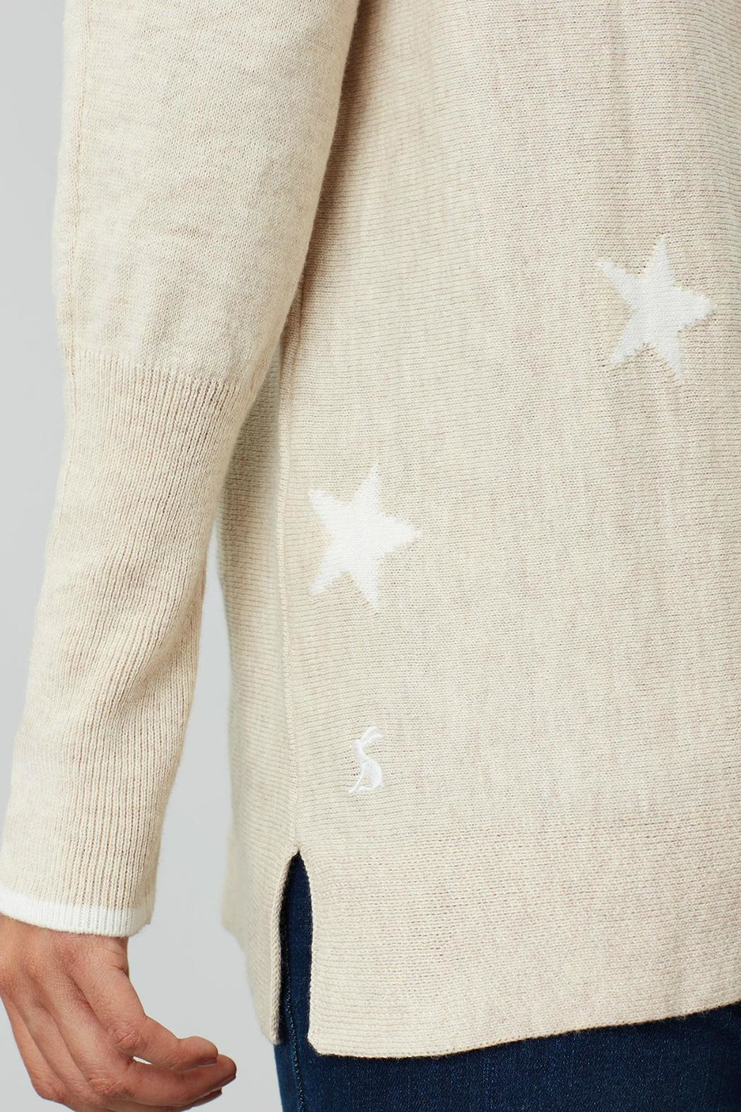 Joules Round Neck Swing Sweater - Side Cropped Image