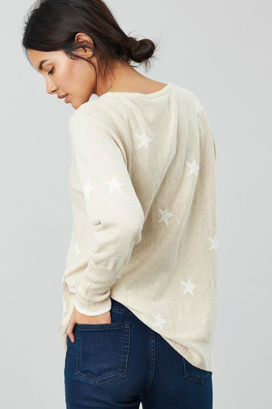 Joules Round Neck Swing Sweater - Front Full Image