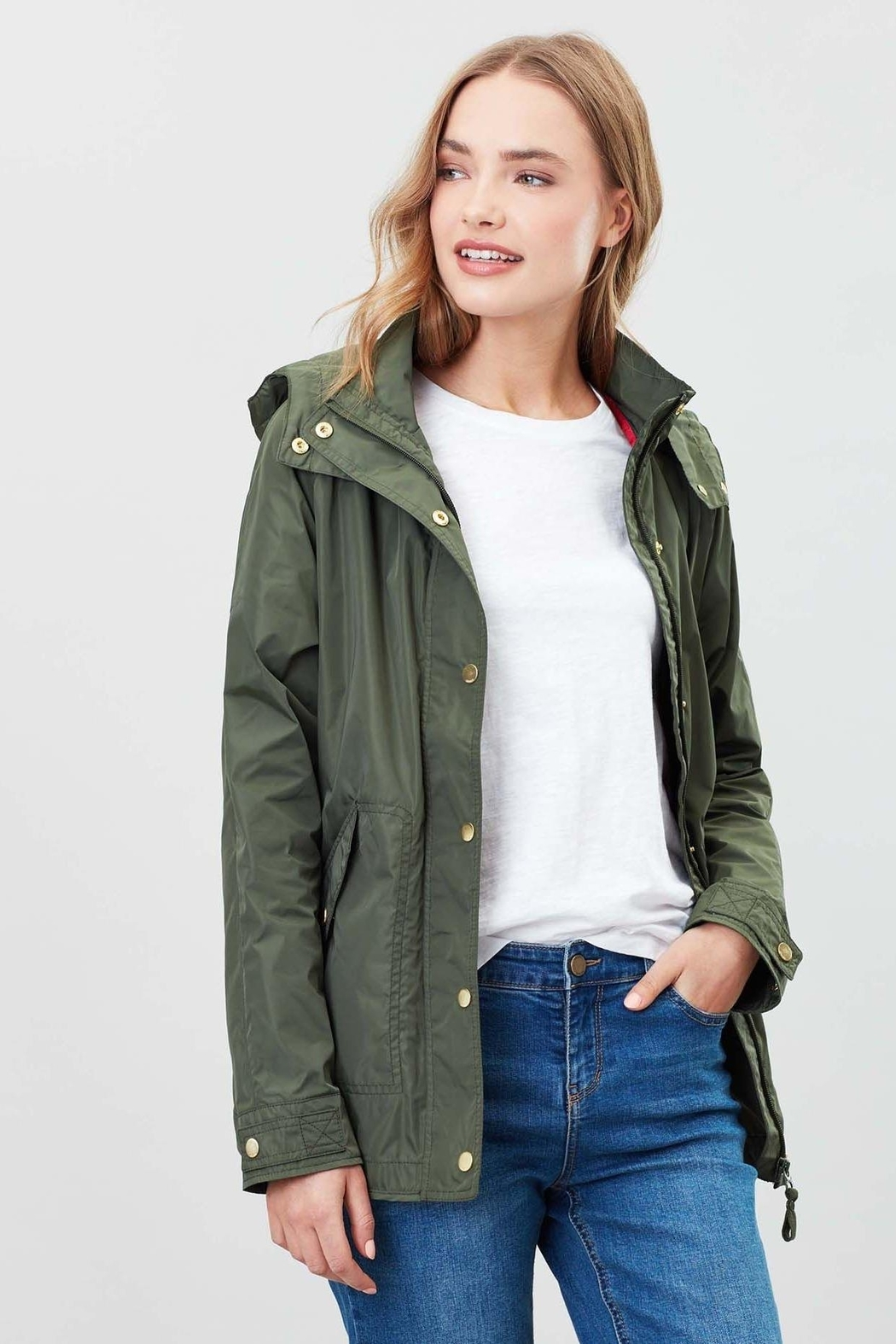 Joules Showerproof Jacket - Front Cropped Image