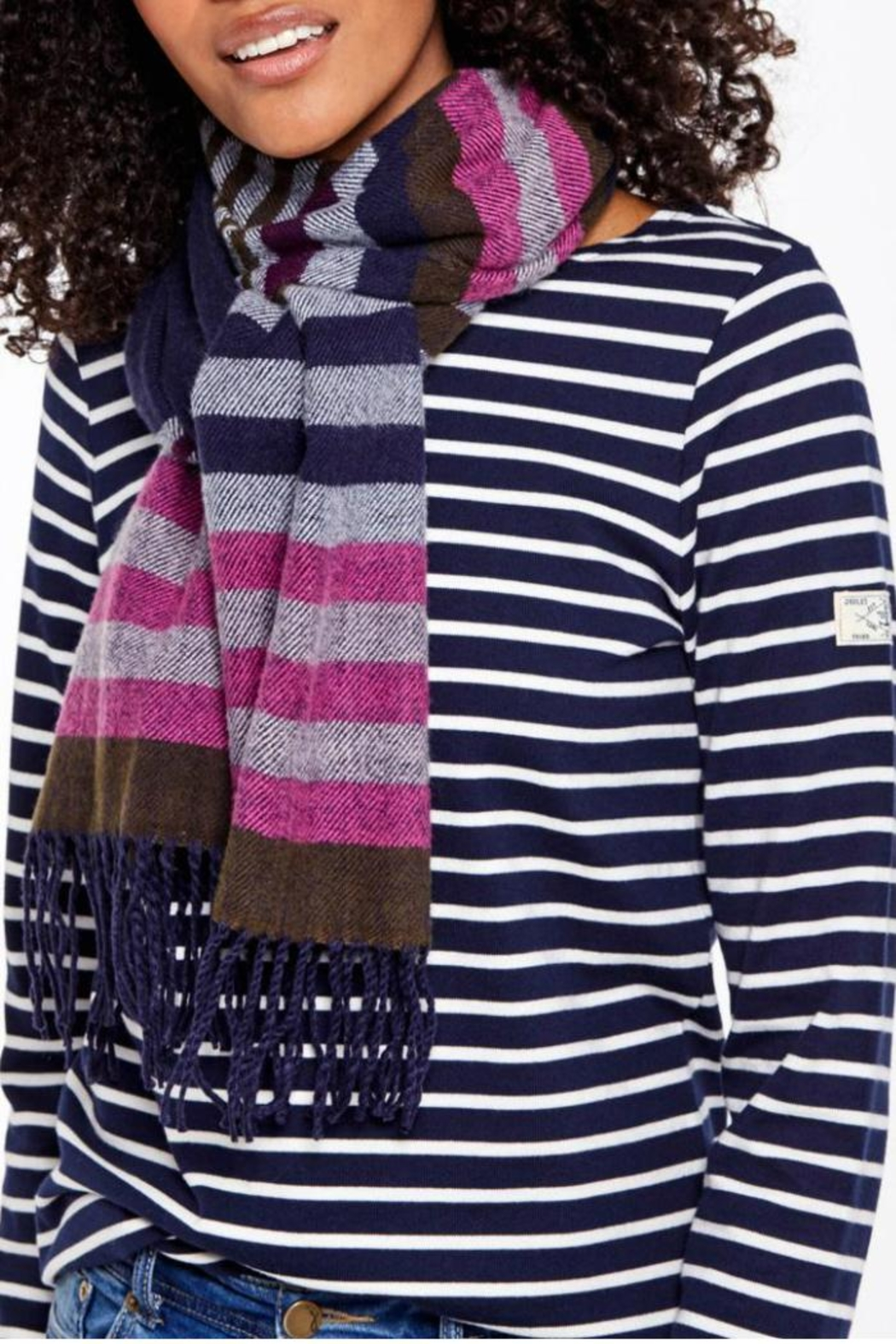 Joules Soft Handle Scarf - Front Cropped Image