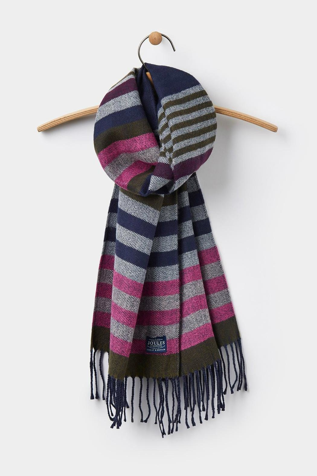 Joules Soft Handle Scarf - Front Full Image