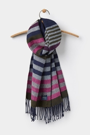 Joules Soft Handle Scarf - Front full body