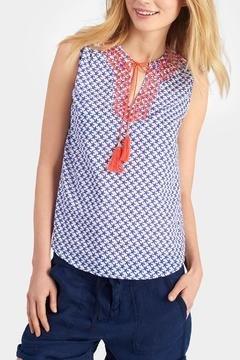 Joules Star Print Top - Product List Image