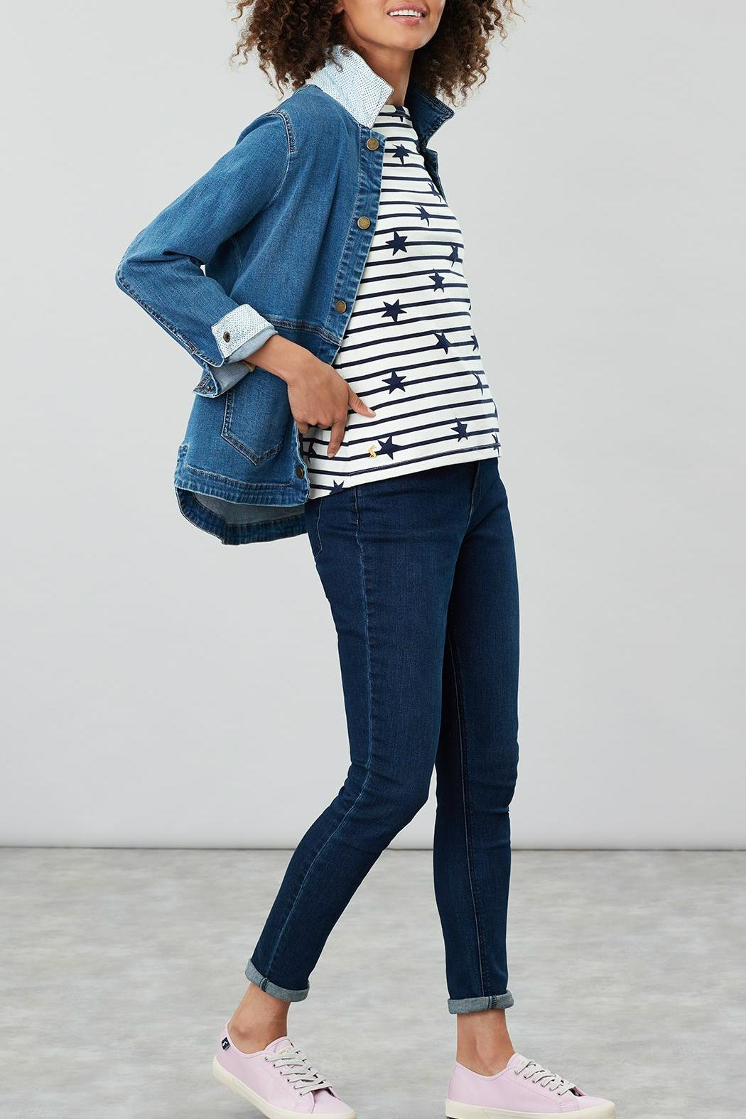 Joules Stripe Star Top - Main Image