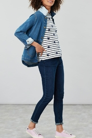 Joules Stripe Star Top - Front cropped