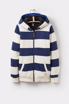 Shoptiques Product: Striped Hoody