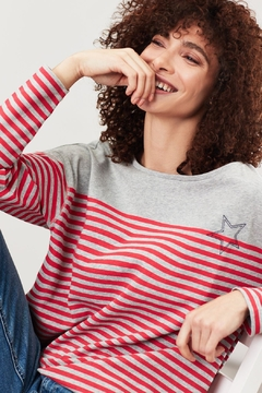 Joules Striped Star Top - Product List Image