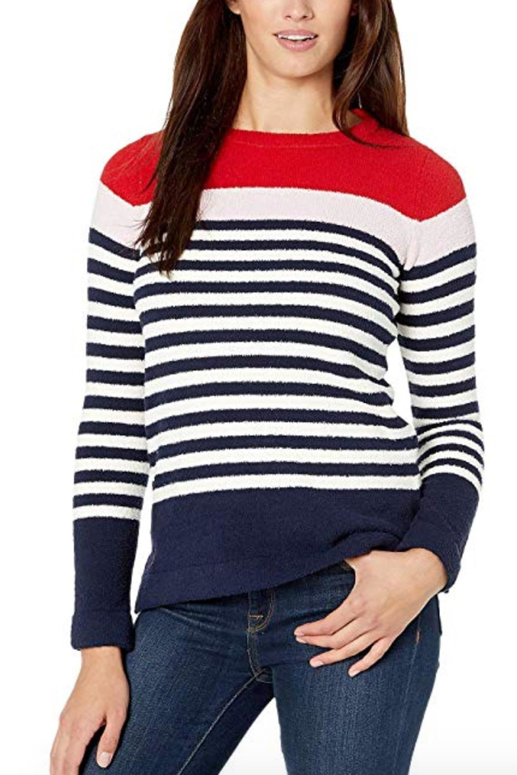Joules Striped Sweater - Main Image