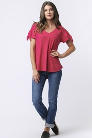 Joules Tie Sleeve Top - Product Mini Image