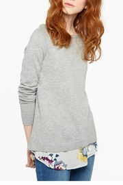 Joules Woven Knit Sweater - Product Mini Image