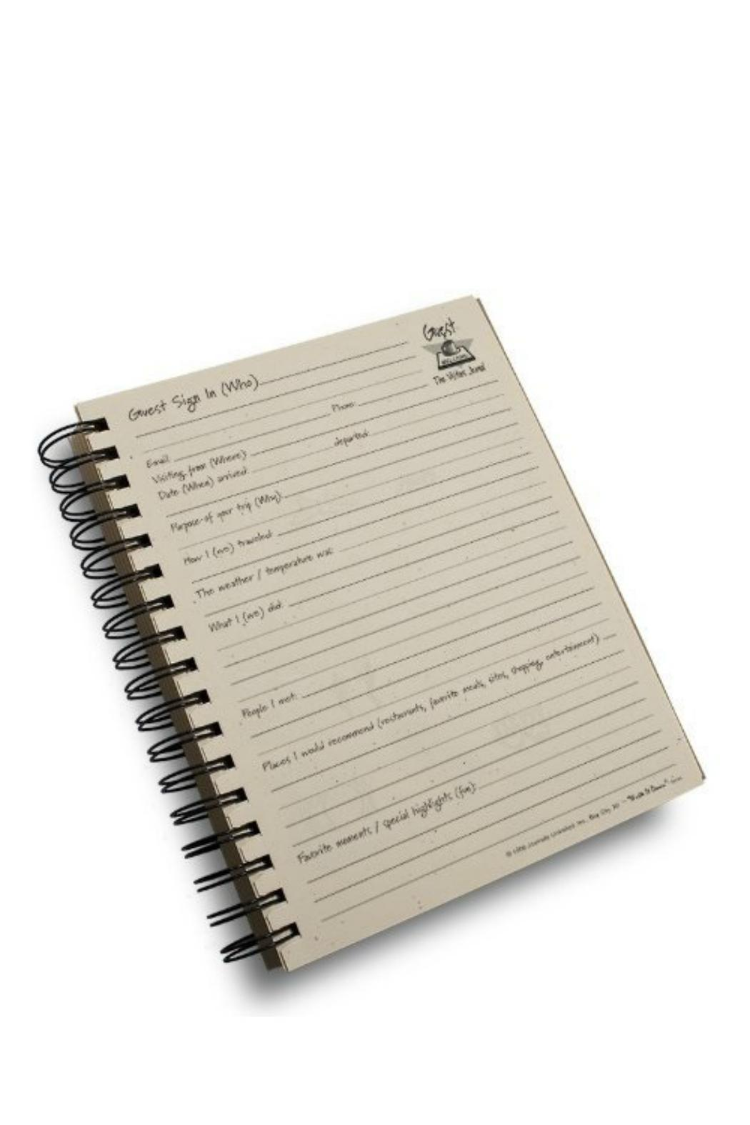 Journals Unlimited Guest Or Visitors Journal - Front Full Image