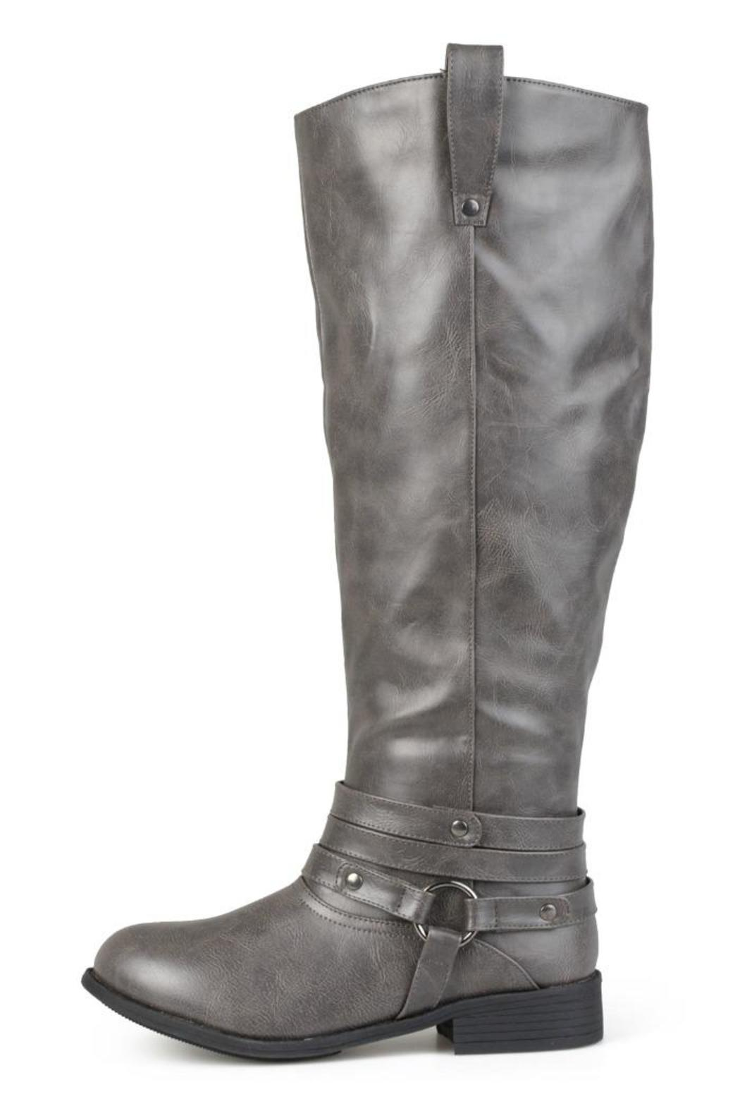 Journee Collection Wide-Calf Riding Boot from Utah by Fashion ...