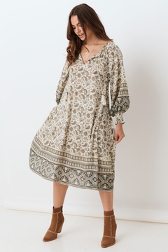 Spell and the Gypsy Journey Boho Dress Ash - Product List Image