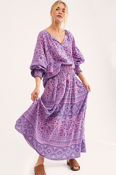 Spell and the Gypsy Journey midi Skirt mulberry - Product List Image