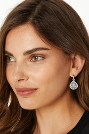 Brighton Journey To India Reversible Post Hoop Earrings JA6213 - Front full body