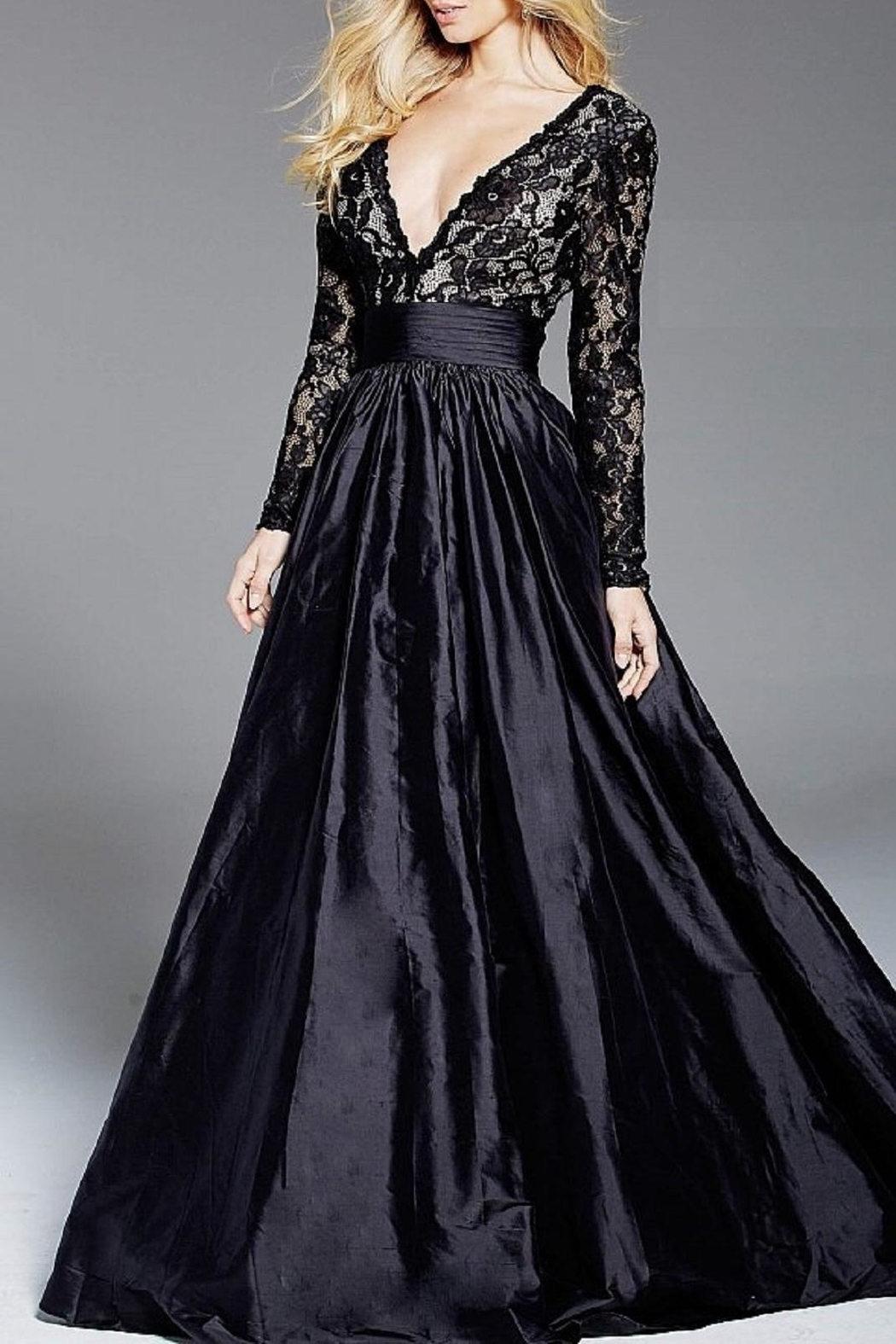 Jovani Long Sleeve Gown - Main Image