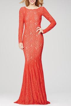 Shoptiques Product: Red Sleeve Lace