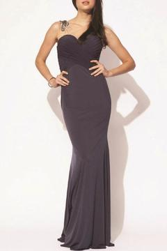 Jovani PROM Long Jersey Gown - Product List Image