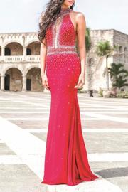 Jovani PROM Stunning Jersey Gown - Product Mini Image