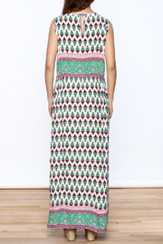 Joy & Co Printed Maxi Dress - Back cropped