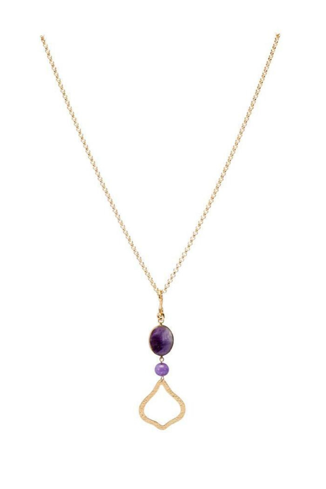 Stephanie Kantis Joy Amethyst Necklace - Main Image