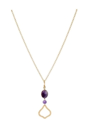 Stephanie Kantis Joy Amethyst Necklace - Front cropped