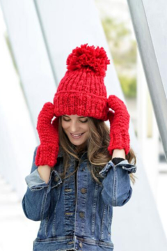 Shiraleah Joy Hat & Mitten Set - Alternate List Image